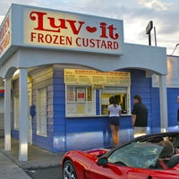 Photo taken at Luv-It Frozen Custard by Luv-It Frozen Custard on 1/27/2014