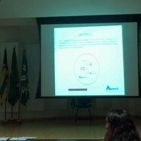 Photo taken at CRMV-GO Conselho Regional de Medicina Veterinária de Goiás by Christiano M. on 2/20/2013