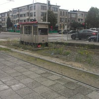 Photo taken at Halte Antwerp Stadion by Tim on 10/2/2012