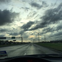 Photo taken at Beltway 8 East by Jonathan G. on 3/26/2014