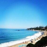 Photo taken at Laguna beach by Joaquin R. on 1/31/2014
