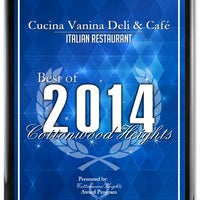 Photo taken at Cucina Vanina by Cucina Vanina on 5/7/2014