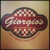 Photo taken at Giorgio's Pizzeria by Kolean B. on 4/9/2013