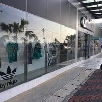 Photo taken at Adidas Concept Store Kuala Terengganu by Amin J R. on 3/19/2016