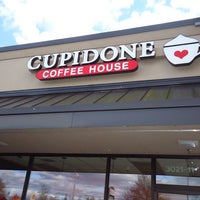 Photo taken at Cupidone Coffee House by Cupidone C. on 2/5/2014