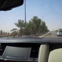 Photo taken at Al Ain -dubai Highway by Mona on 5/30/2014