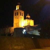 Photo taken at Monestir de Sant Cugat by Marc L. on 11/10/2012