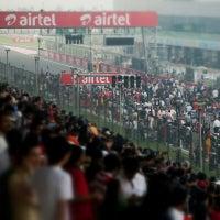 Photo taken at Buddh International Circuit by Henrik B. on 11/15/2013