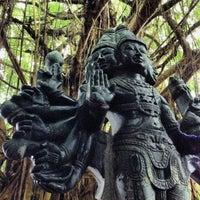Photo taken at Kauai Hindu Monastery by kris o. on 11/30/2013