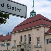Photo taken at Bad Elster by JEAN-PIERRE P. on 8/30/2013