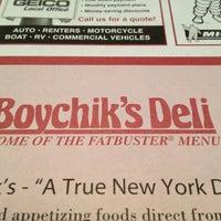 Photo taken at Boychik's Deli by Angela L. on 5/24/2013