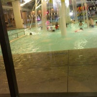 Photo taken at Shute Park Aquatic & Recreation Center (SHARC) by Damon P. on 3/10/2013