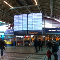 Photo taken at Utrecht Central Station by Dirk V. on 9/16/2012