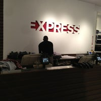 Photo taken at Express by Abiola I. on 12/27/2012