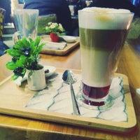 Photo taken at Neva Coffee & Bakery by İrem Ç. on 10/22/2014