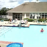 Photo taken at meadow club house,pool by Robert C. on 8/25/2013