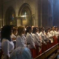 Photo taken at Basilique Notre-Dame d'Avesnières by Paul P. on 8/15/2014