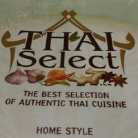 Photo taken at Thai Select by Jeff M. on 12/23/2013