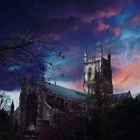 Photo taken at Worcester Cathedral Tower by Jannette V. on 4/19/2017