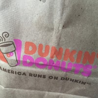 Photo taken at Dunkin Donuts by Lauren H. on 6/3/2016