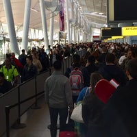 Photo taken at TSA Security Screening by Scott K. on 11/10/2017