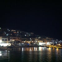 Photo taken at Batsi by Christos P. on 7/9/2013