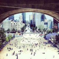 Foto tomada en Mirador Monumento a la Revolución Mexicana por Albert Q. el 3/24/2013