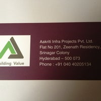 Photo taken at Aakriti Constructions by Deepti N. on 3/30/2013