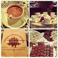 Снимок сделан в Львовская мастерская шоколада пользователем Alyona Komarova 4/13/2013