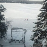 Photo taken at Lake Pokegama by Scott W. on 12/26/2012