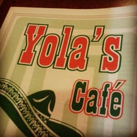 Photo taken at Yola's Cafe by Norm R. on 11/11/2012