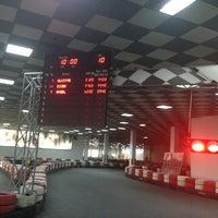 Photo taken at Baku Karting & Event Center by Çiçek V. on 8/6/2014
