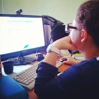 Photo taken at Двухэтажное кирпичное здание стиля «Модерн» by Дмитрий Х. on 7/16/2014