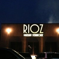 Photo taken at Rioz Brazilian Steakhouse by Sean H. on 3/31/2013