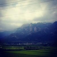 Photo taken at 월출산 by Kang C. on 8/15/2014