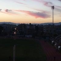Photo taken at Δημοτικό Στάδιο Καλαμάτας by Nadia V. on 1/14/2016