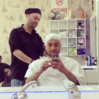 Photo taken at Salon Barber's by Kadir S. on 4/17/2015