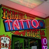 Photo taken at Imagine That Tattoo Studio by Kara W. on 2/20/2013