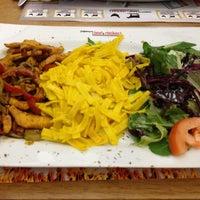 Photo taken at Beef & Chicken by Büşra K. on 1/18/2013
