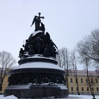 Das Foto wurde bei Novgorod Kremlin von Philipp K. am 2/3/2013 aufgenommen