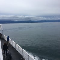 Photo taken at Black Ball Victoria Ferry by Michael O. on 9/5/2016