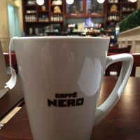 Photo taken at Caffè Nero by Khaddam J. on 3/30/2014