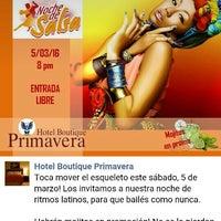 Photo taken at Hotel Boutique Primavera by Josué R. on 3/6/2016