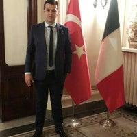Photo taken at Ambasciata Turca by Suat I. on 10/29/2015