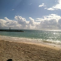 Photo taken at Fort Zachary Taylor State Park Beach by Brandi C. on 12/6/2012