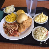 Photo taken at Luby's by Ben B. on 2/21/2014