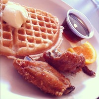 Photo taken at Home of Chicken and Waffles by Arnold G. on 9/30/2012