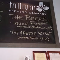 Photo taken at Trillium Brewing Company by Dave N. on 3/29/2013