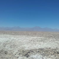 Photo taken at Salar de Atacama by Manu F. on 11/2/2012