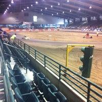 Photo taken at Lamar-Dixon Expo Center by Blaine M. on 11/4/2012